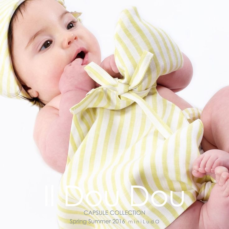 miniLudO SS16 Capsule Collection. #miniLudO #SS16 #BabyGirl #FashionKids #babycomforter #Spring #Summer #Primavera #Estate #PE16 #evergreen #green #Toddler #Style #babies #Mare #Spiaggia @pequenitoshop  @mamibuItaly SHOP ONLINE http://www.miniludo.com/prodotto/dou-dou/