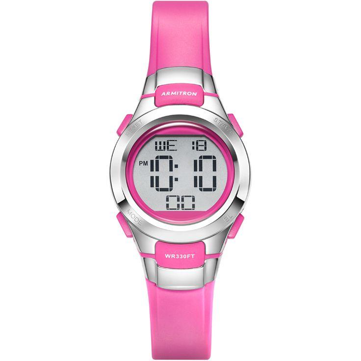 Women's Pink Digital Wrist Watch