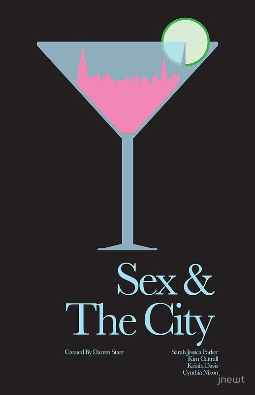 Sex and the City - One of my tv show addictions