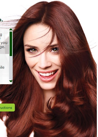 Garnier Auburn Hair Colour