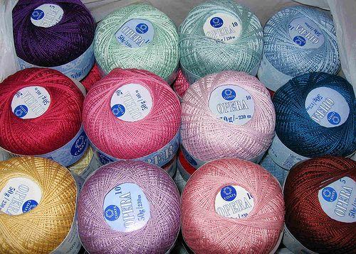 Choosing Cotton Thread for Crochet Jewelry. ☀CQ #crochet #crafts #DIY.