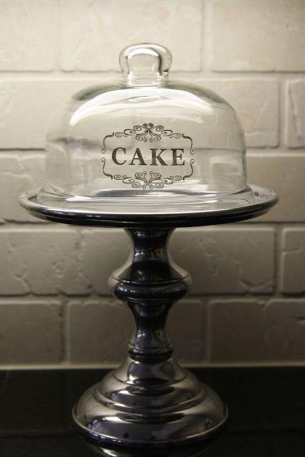 Cake vinyl on dome!  Joanna Gaines's Blog   HGTV Fixer Upper   Magnolia Homes