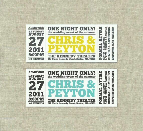 16 best ticket images on Pinterest Invitations, Pajamas and Car - concert ticket layout