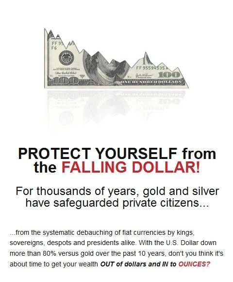 Protect Yourself from the Falling Dollar!: Fall Dollar