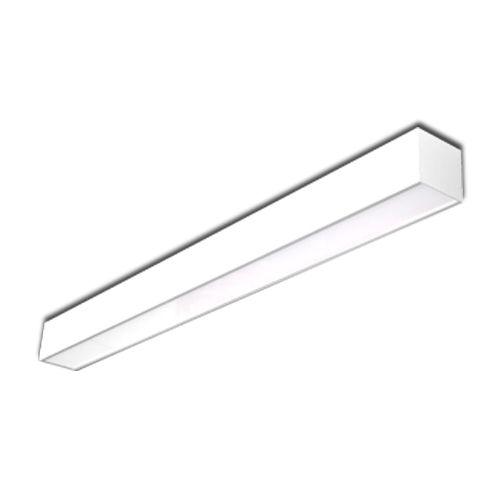 Luminária sobrepor Office em alumínio 2 Lâmpadas 14/16W com Várias Opç