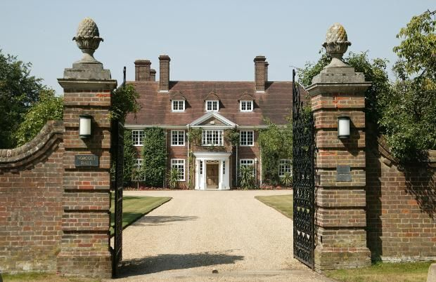 CURB APPEAL – another great example of beautiful design. A country estate.