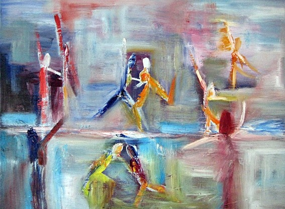 Art Prints Gallery - Dancing On Ice (Limited Edition), £195.00 (http://www.artprintsgallery.co.uk/Rina-Bakis/Dancing-On-Ice-Limited-Edition.html)