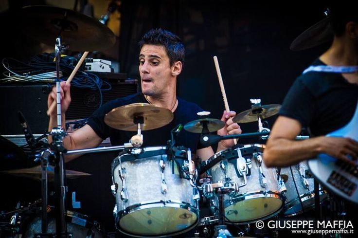 VIRTUAL SYMMETRY - Davide Perpignano - Drums