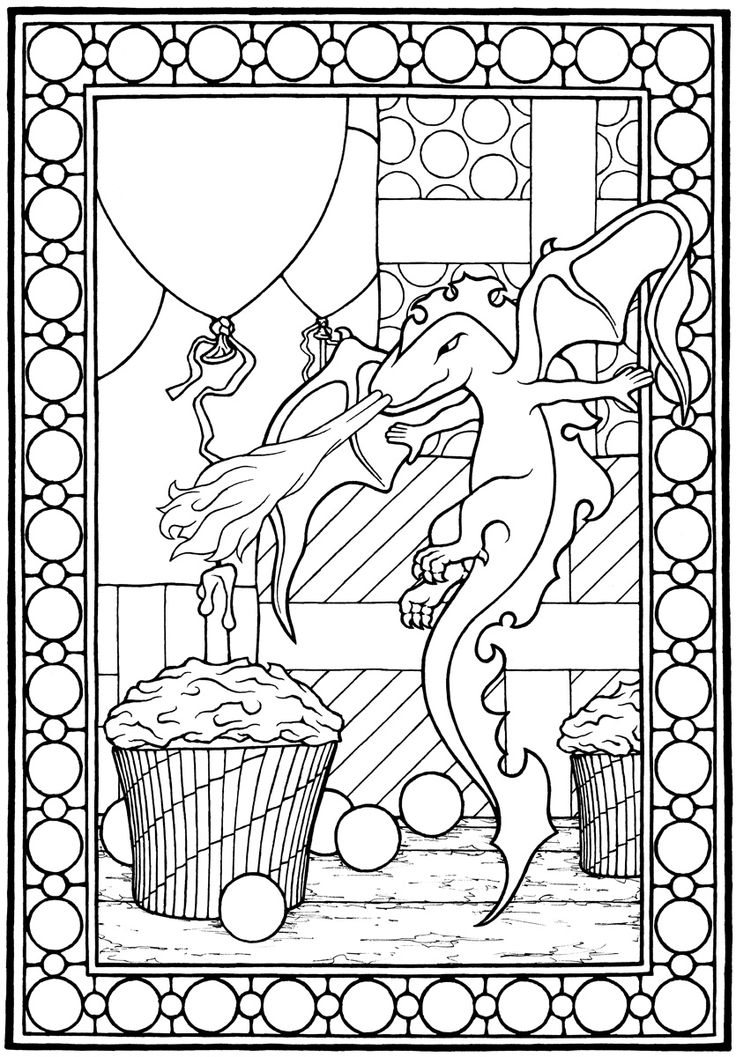 54 best Castles Dragons Knights Coloring Pages images on ...