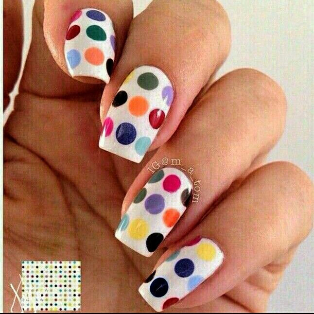 Love Dots.. Nail Art ❤