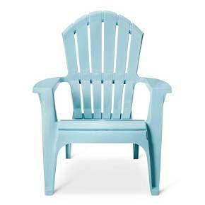 RealComfort Resin Adirondack Chair - Adams : Target Grey qty-2