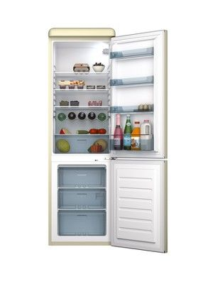 SR11020C 60cm Retro Fridge Freezer - Cream, http://www.isme.com/swan-sr11020c-60cm-retro-fridge-freezer-cream/1267133776.prd
