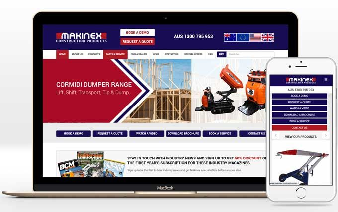 The new year has taken off and Makinex have launched their revamped website. It features an improved home page and product pages designed to make it easy for customers and prospects to get a view images of products, book a demo, request a quote, contact the team