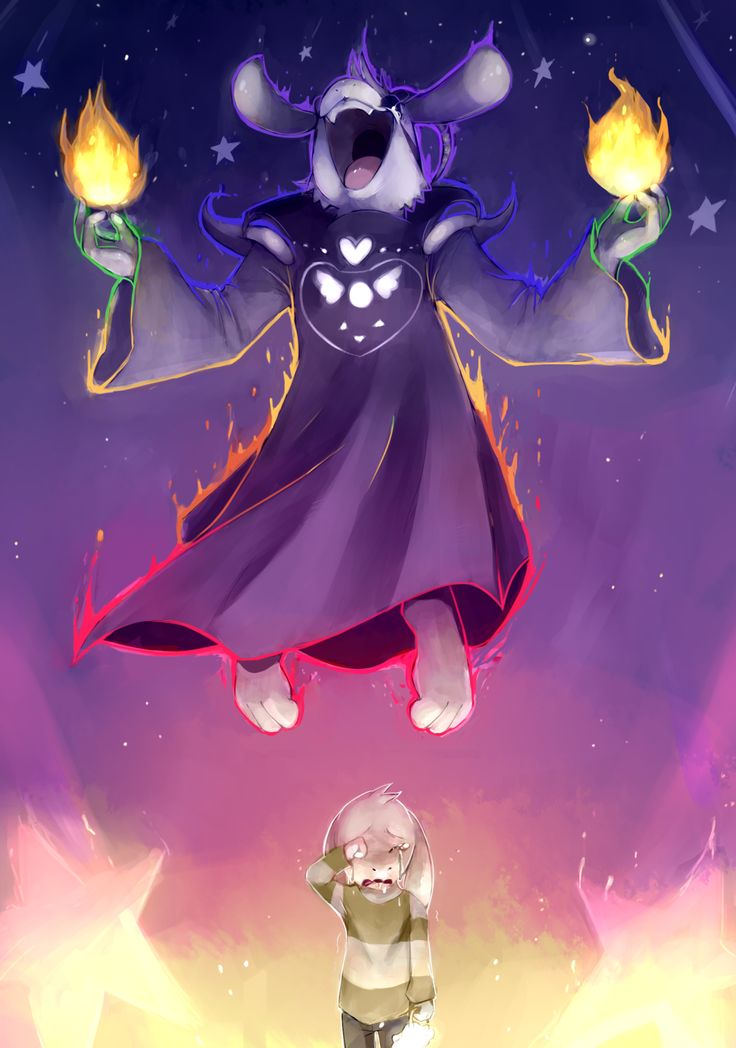 Best games game and the end on pinterest - Undertale asriel ...