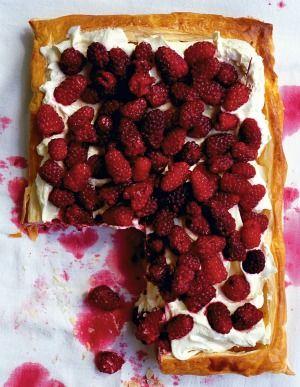 Quick Raspberry Tart