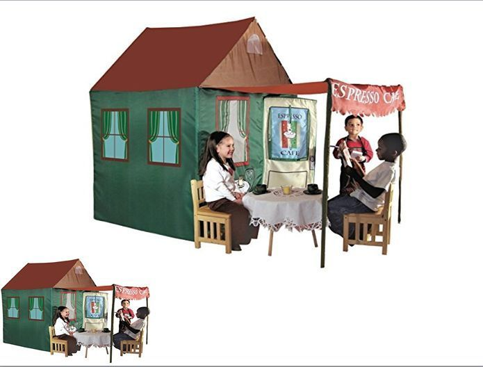 Expresso Cafe Playhouse 7 Ft. Tent Children Kids Outdoor Play Fun