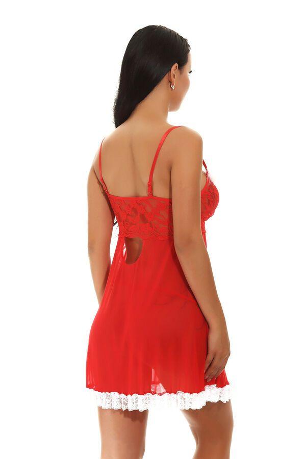 1d42edb34 US Christmas Red Women Sexy Tulle Lingerie Nightwear Underwear Dress  Sleepwear Sexy Tulle Women