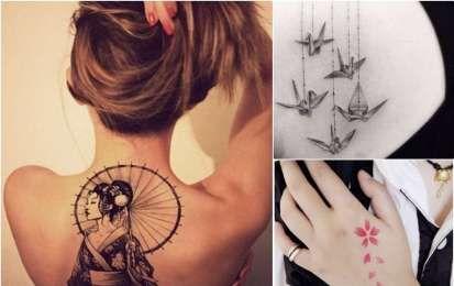 Tatuaggi giapponesi per donne - Tatuaggi giapponesi femminili