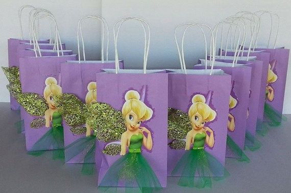 INSPIRED 25pc Disney 13pc Tinkerbell 12pc Peter Pan Birthday