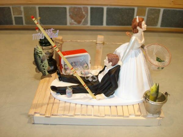 wedding cake toppers fishing theme 17 best ideas about fishing wedding cakes on 26463