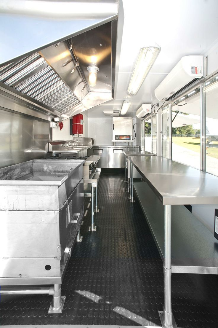 25 of the best food truck designs design galleries paste - The Interior View Of The Doughworks Food Truck From Back To Front