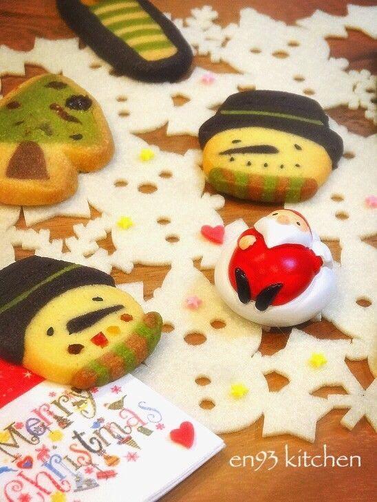 Xmas☆ツリー柄アイスボックスクッキー by えん93 [クックパッド] 簡単おいしいみんなのレシピが233万品