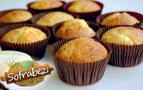 Muzlu Hindistan Cevizli Muffin - Sofra Bezi | Yemek Tarifleri | Kek Tarifleri | Resimli Tarifler