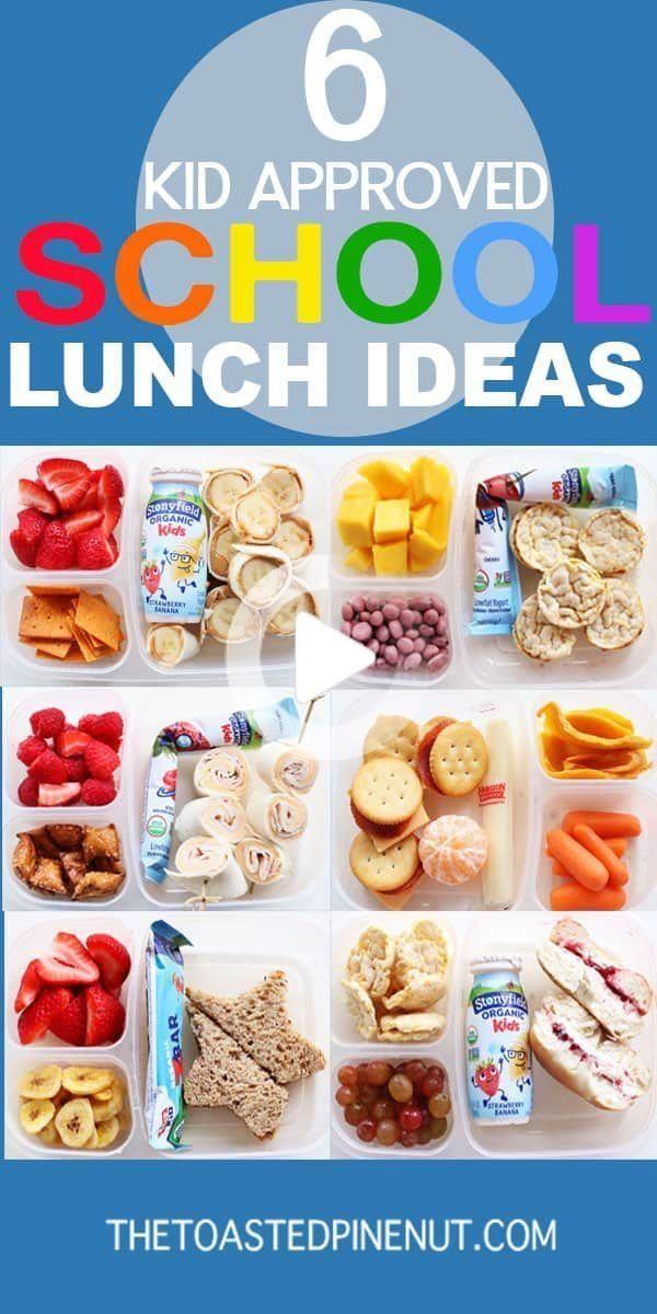Als Ein Neues Schuljahr Nahert Ich Teile Six Schule Lunchbox