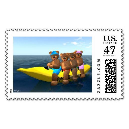 Dinky Bears on Speed Banana