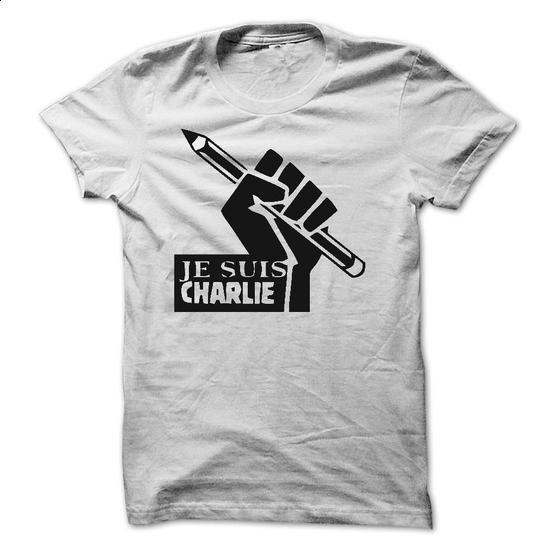 JE SUIS CHARLIE - #baseball tee #oversized tee. BUY NOW => https://www.sunfrog.com/Funny/JE-SUIS-CHARLIE-28589988-Guys.html?68278