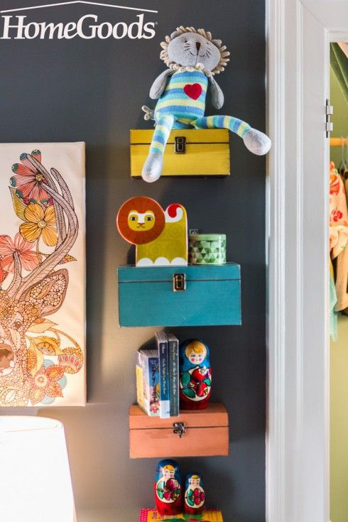 Create a reading nook that's fairy tale worthy. From colorful and cheerful pillows to playful art and creative storage, fuel your little one's imagination. Visit your local HomeGoods store to help get you started.