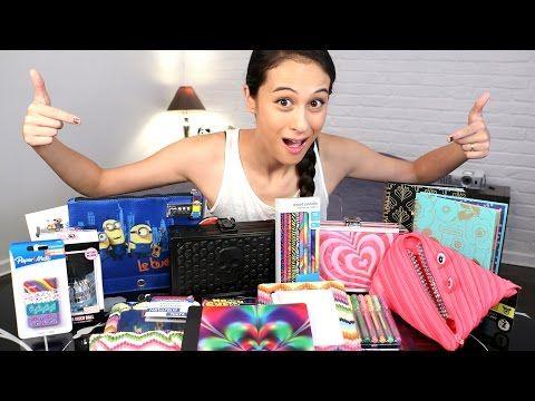 MEGA GROTE BACK-TO-SCHOOL WINACTIE! || MeisjeDjamila - YouTube
