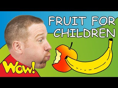 Fruit for Children | Steve and Maggie | English for Kids