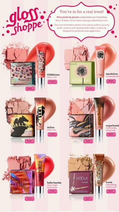 Benefits Cosmetics Blush and Gloss