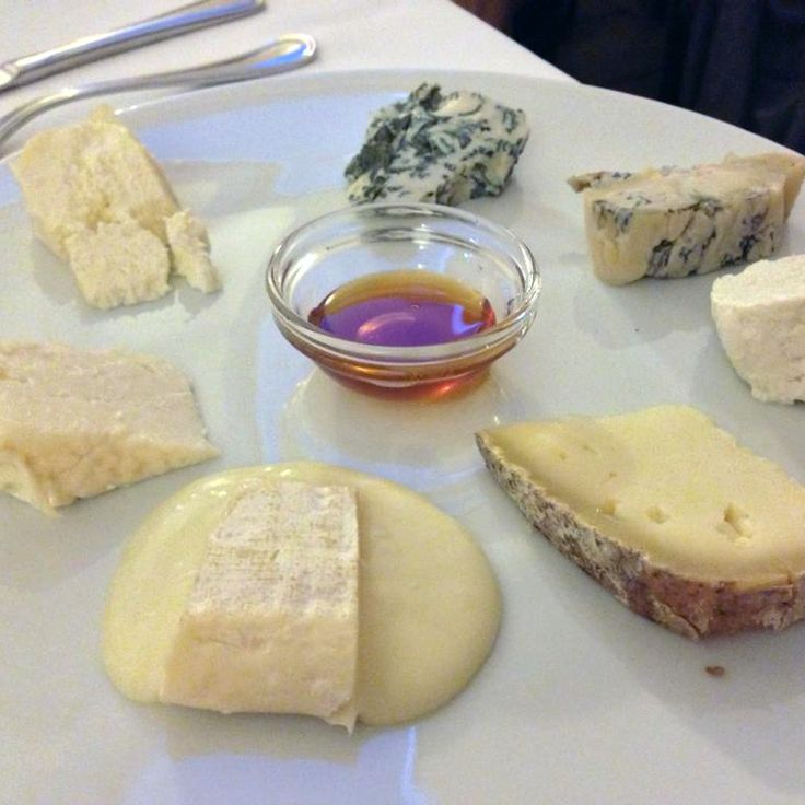 I formaggi della trattoria La Baritlera.