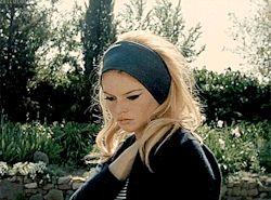 my gif film 1960s brigitte bardot Jean Luc Godard le mépris x60s xlemepris xbrigittebardot