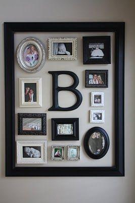 small frames onto big frame
