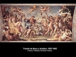 Resultado de imagen de el triunfo de baco y ariadna