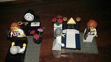 lego minifigures Lizzie borden murder scenes