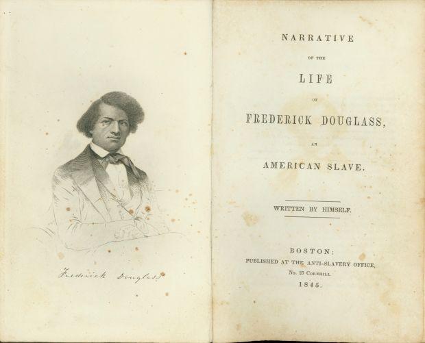 Frederick Douglass Narrative of the Life Photo