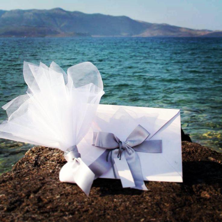 Bonboniera and Invitation by Ioanna Vamvakari Decoration and Event Planning