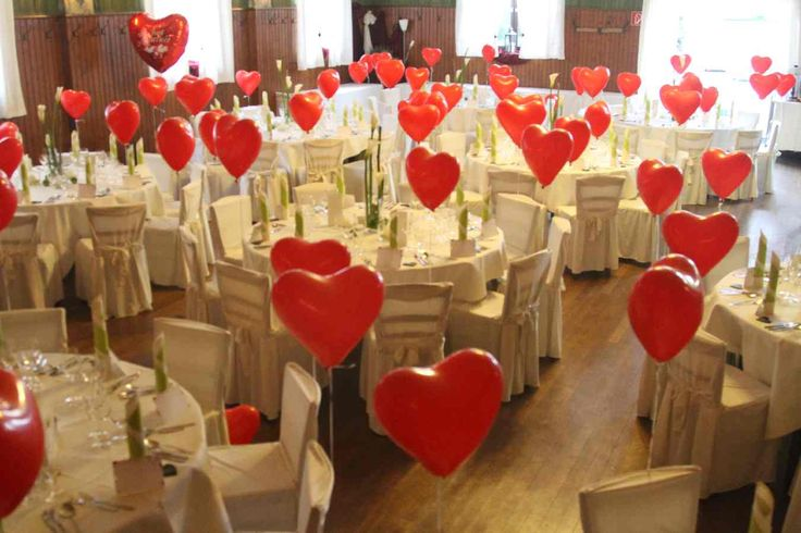unser Dorfsaal im Hochzeitsfieber