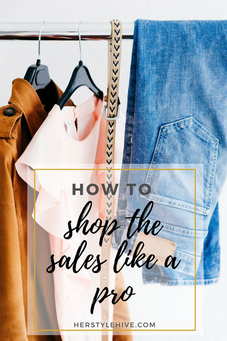 How to Shop Smart During the Sales by Izabela Nair