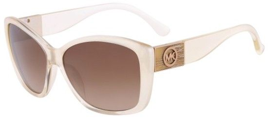 Michael Kors women geometric crystal powder brown shaded - $16.99 - Cheap Sunglasses Online Store‎