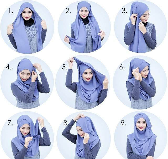This hijab style may look complicated to create but it's really easy and can be made in 2 minutes, it's a stylish look for Eid or any special occasion, Get your Hijab ready and follow the steps below for the…