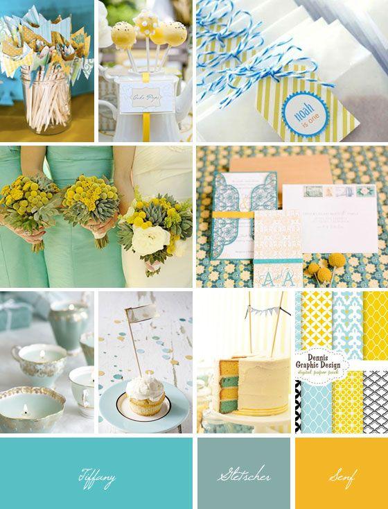 Ideaboard: Tiffany, Gletscher und Senf | Hochzeitsblog Fräulein K. Sagt Ja