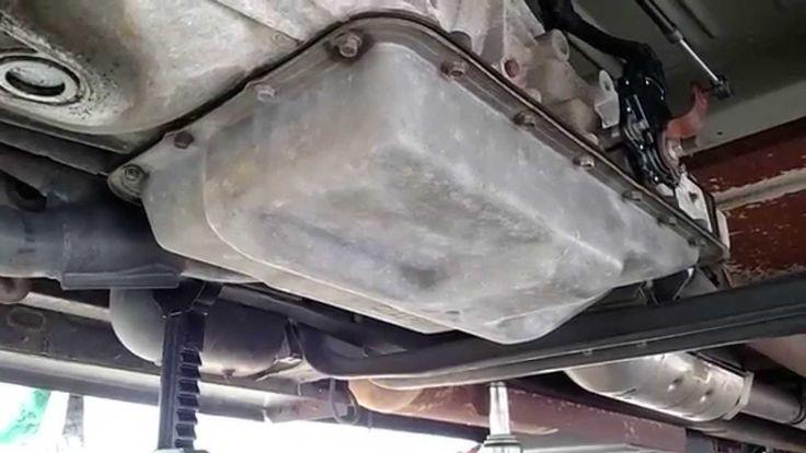 Ford E350 Transmission Fluid  U0026 Filter Change