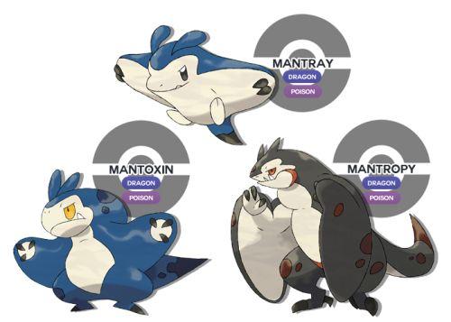 Mantray Gt Mantoxin Gt Mantropydragon Poisonsource