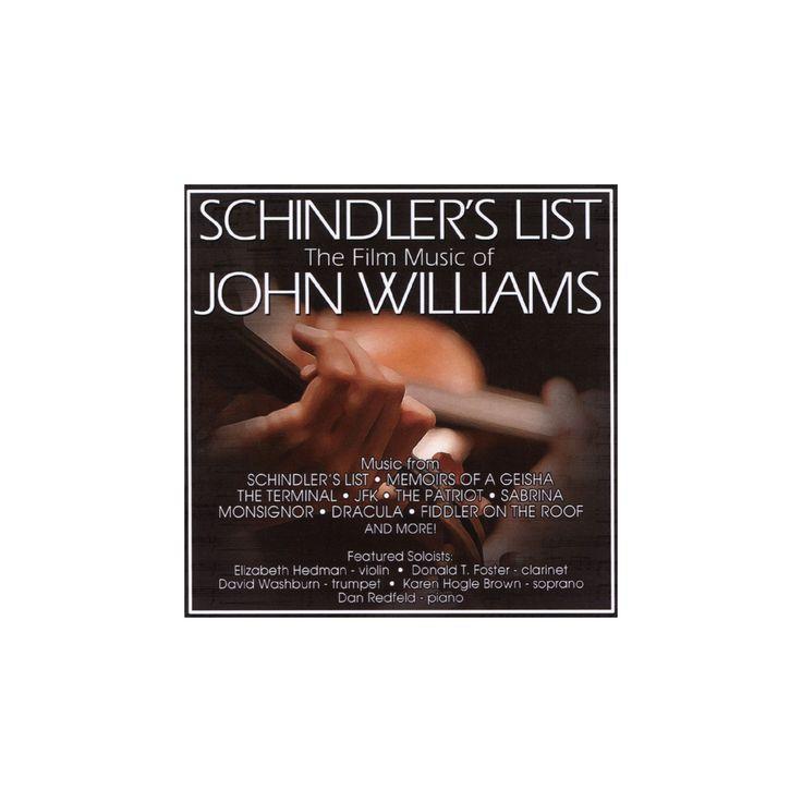 John williams - Schindler's list:Film music of john w (CD)