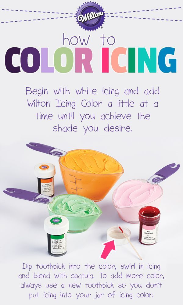 Choosing appropriate colors for your cakes will help you capture just the mood you want for any occasion!